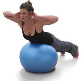 Balones para la practica de pilates