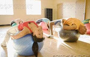 Pilates con Pelotas