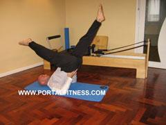 Ejercicio Tijeras Pilates